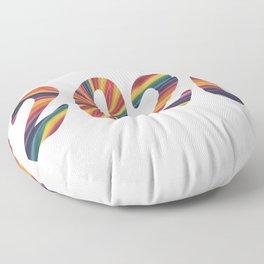 2020 Abstract Floor Pillow