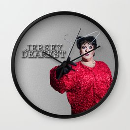 Jersey Dearest Wall Clock