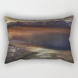 Abstract of Hot Spring Rectangular Pillow
