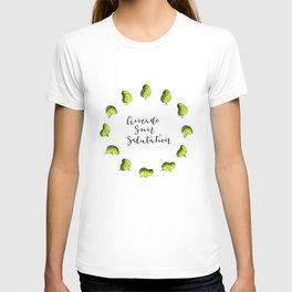 Avocado Sun Salutation T-shirt
