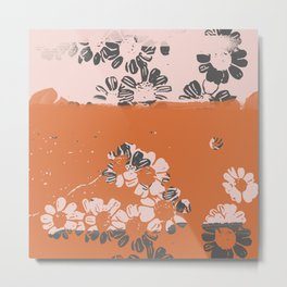 makenzie: ditsy florals Metal Print