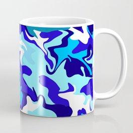 Ocean Blues Camo Coffee Mug