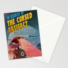 In Search of the Cursed Artifact Stationery Cards