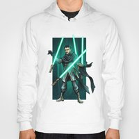 jedi Hoodies featuring Tesla - Jedi Consular by Salty!