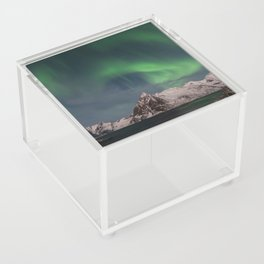Northern Lights Over Lofoten Acrylic Box