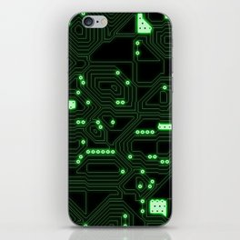 Computer Circuitry iPhone Skin
