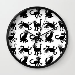 4cats Wall Clock