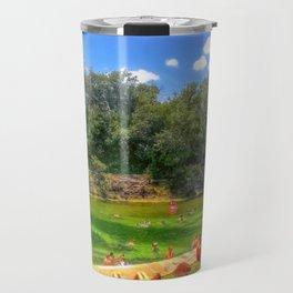 Barton Springs at Zilker Park - Austin, Texas Travel Mug