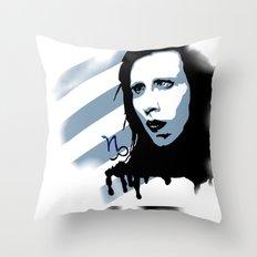 Dichotomy Throw Pillow