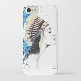 Her Feathers iPhone Case
