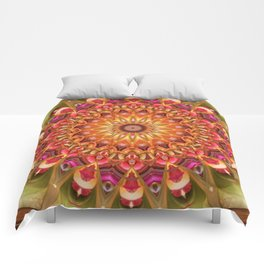 Dreaming in Color Mandala Comforters