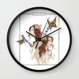 The Twins Wall Clock