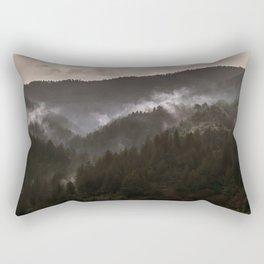 Foggy morning in Bosnia Rectangular Pillow