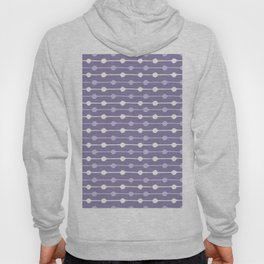 Dots Stripes Ultraviolet Hoody