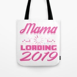 Baby Is Loading Boy Girl For Mom Announcement Gift Tote Bag