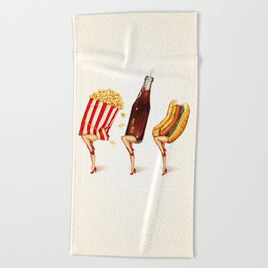 Movie Girls Beach Towel