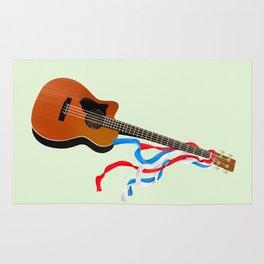 Acoustic Bass Rug