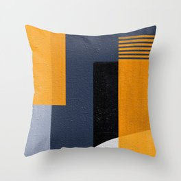 Abstract Geometric Space 1 Throw Pillow