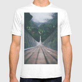 Crossing bridges. T-shirt