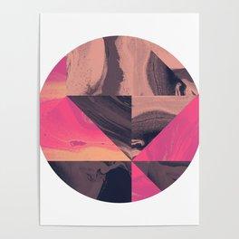 Triangular Magma Poster