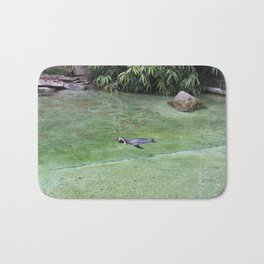 Swimming Penguin Bath Mat