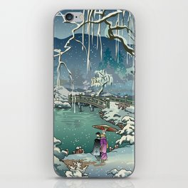 Ukiyo-e: Yuri on Ice iPhone Skin