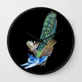 Goddess of Many Eyes 4 Wall Clock