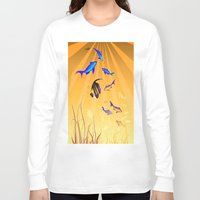 under the sea Long Sleeve T-shirts featuring Under The Sea V2 by Robin Curtiss