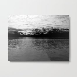 Rolling Clouds Metal Print