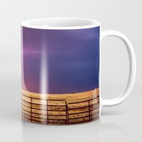 western Mugs featuring Western Front by Sean Ramsey