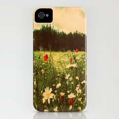 Poppies In Pilling  iPhone (4, 4s) Slim Case