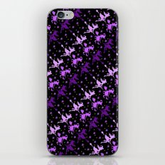 Witches Starry Night Pattern iPhone & iPod Skin