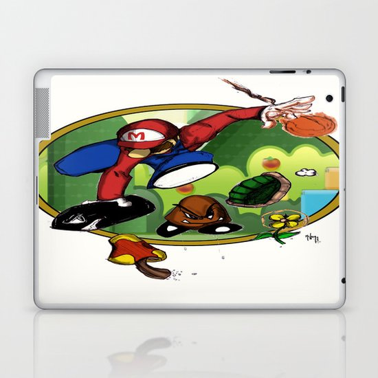 Mario landS Laptop & iPad Skin