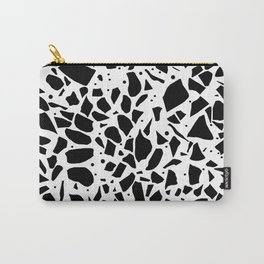 Terrazzo Spot White Carry-All Pouch