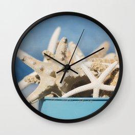 Bucket Full os Starfish Wall Clock
