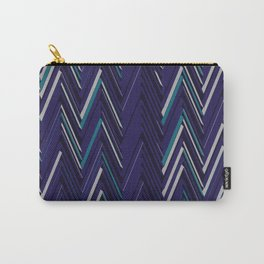 Abstract Chevron Carry-All Pouch