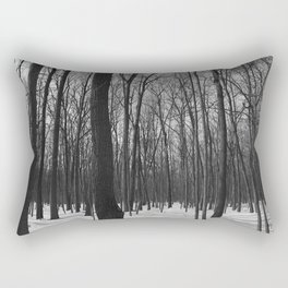 Trees in the forest Rectangular Pillow