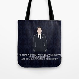 The Great Game - Jim Moriarty Tote Bag