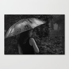 pouring dreams Canvas Print
