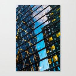 Facades of NY - 07 Canvas Print