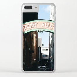 Seattle - Post Alley Clear iPhone Case