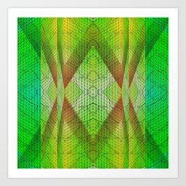 digital texture Art Print