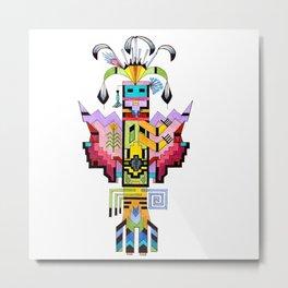 Kachina Butterfly 6 Metal Print
