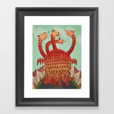 Conflict Framed Art Print