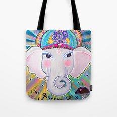 Jai Ganesha  Tote Bag