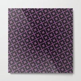Purple illusions Metal Print