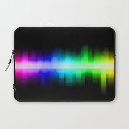 Soundwave cells Laptop Sleeve