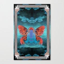 buddherfly #3 Canvas Print