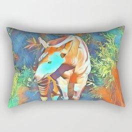 Animal ArtStudio 419 Okapi Rectangular Pillow