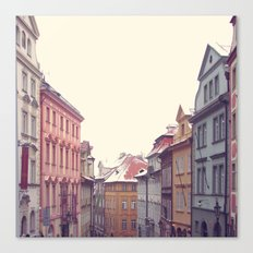 Prague Streets Canvas Print